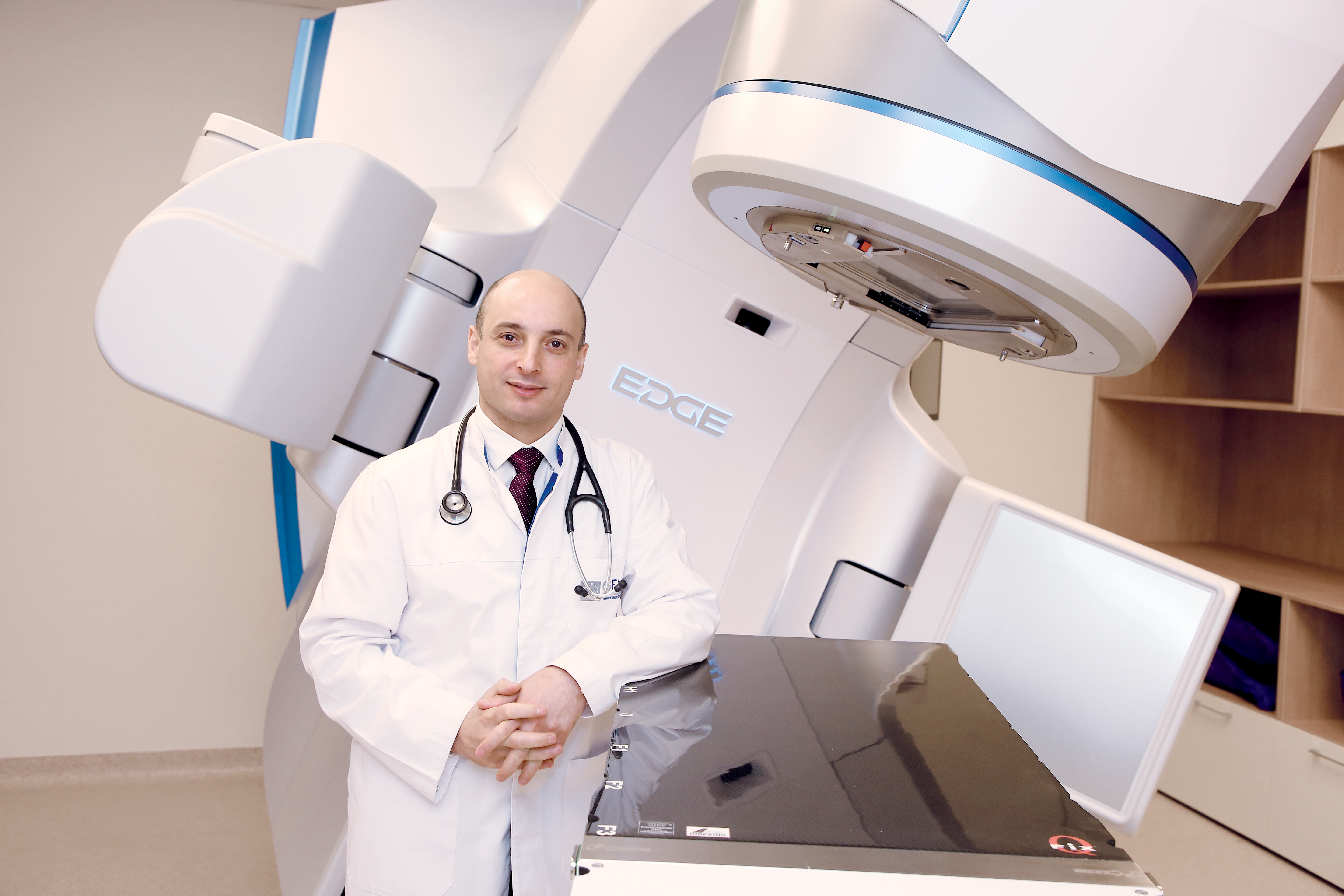 Nidal Salim Director Institute of Oncology